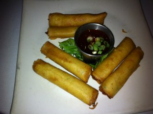 Filipino Chicken Egg Rolls